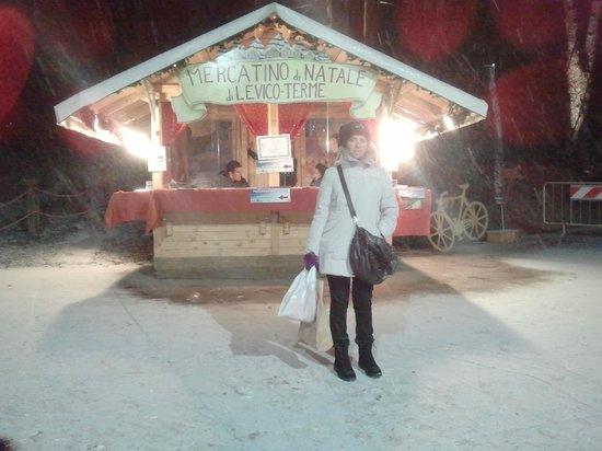 Al Brenta: L'ingresso ai mercatini.