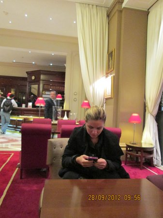 Hotel California Paris Champs Elysees: no lobby do california