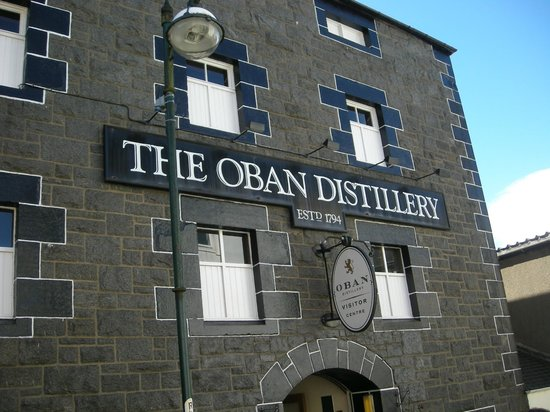 Oban Distillery: Fachada