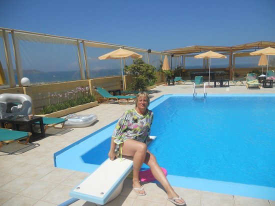 Top Hotel Chania: Odpoczynek przy basenie