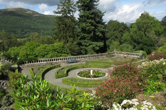 Penmaenuchaf Hall: Wonderful garden