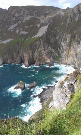 Derrylahan Hostel: Great place to do the Slieve League loop