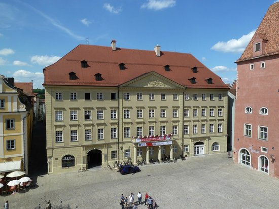 Altstadthotel Arch - Hotelneubau: A view from my hotel room.