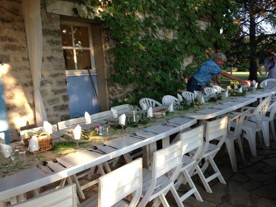 La Roane Yoga & Creativity Centre : La Roane final meal