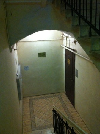 Nevskiy Express Hotel: interno delle scale