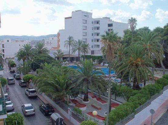 Hostal Cervantes Hotel: the hotel tropic pool