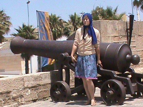 Ancienne Medina : cannone antico