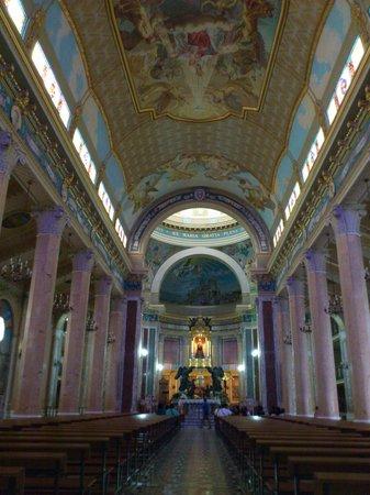 Sanctuary of the Madonna di Tindari : interno chiesa