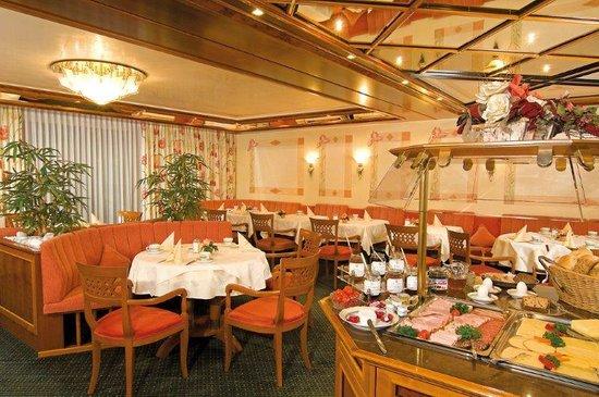 Burghotel : Frühstücksraum