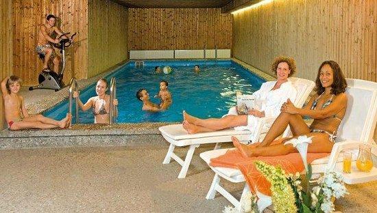 Burghotel : Schwimmbad