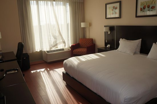 Holiday Inn Express Hotel & Suites Montreal Airport: Chambre lit king size
