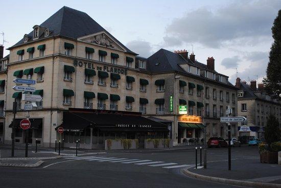 Hotel de Flandre: la fachada