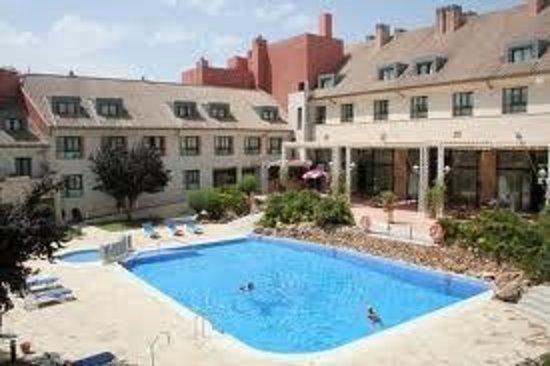 Hotel Antequera: piscina