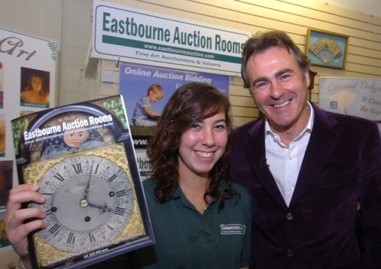 Eastbourne Auction Rooms: BBC's Flog It filming 2011