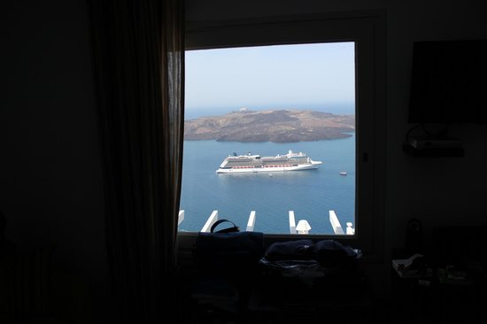 Adamant Suites: View from our bed!