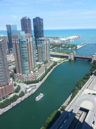 View from Swissotel Chicago  room