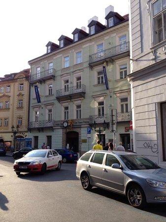 Barcelo Old Town Praha : Outside entrance