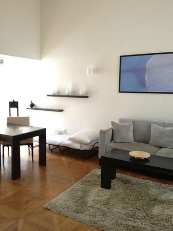 Barcelo Old Town Praha : Suite sitting area