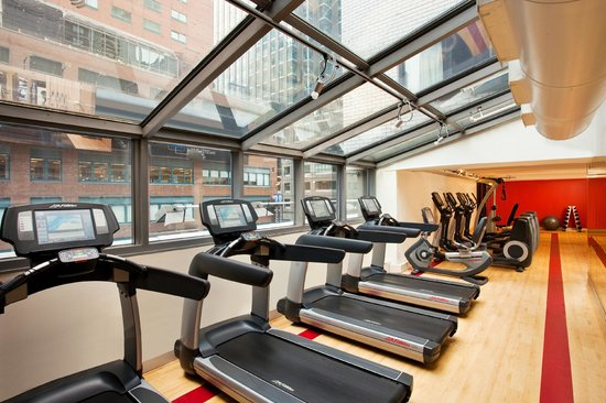 The Manhattan at Times Square Hotel: Fitness Center