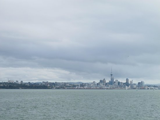 Fullers - Wine on Waiheke Tour : Auckland view