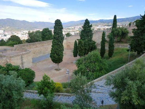 Alcazaba: Burganlage