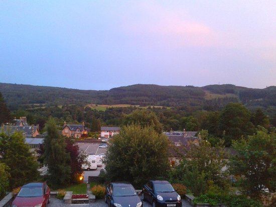 Carra Beag Guest House: View from my room at sunset.