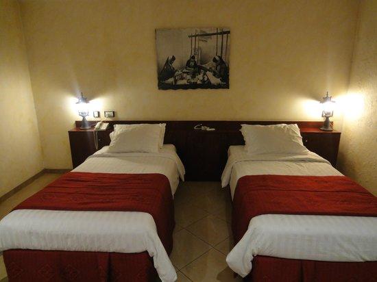 Al Liwan Suites: Very comfortable beds