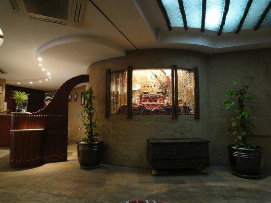 Al Liwan Suites: Reception