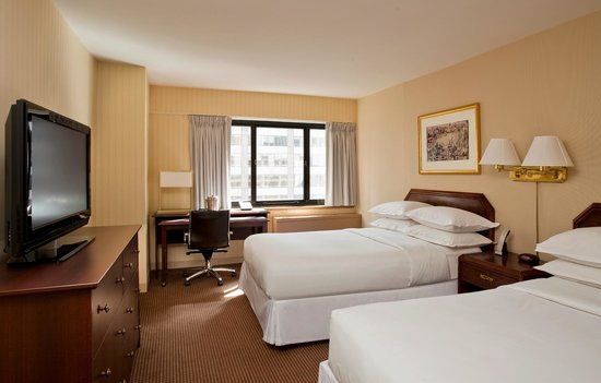 The Manhattan at Times Square Hotel: Standard 2 Double Beds