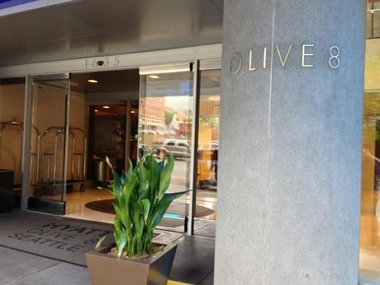 Hyatt At Olive 8: Hyatt Olive 8 Entrance
