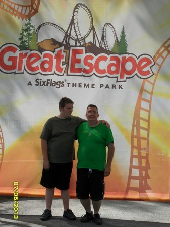 The Great Escape and Splashwater Kingdom: Having fun