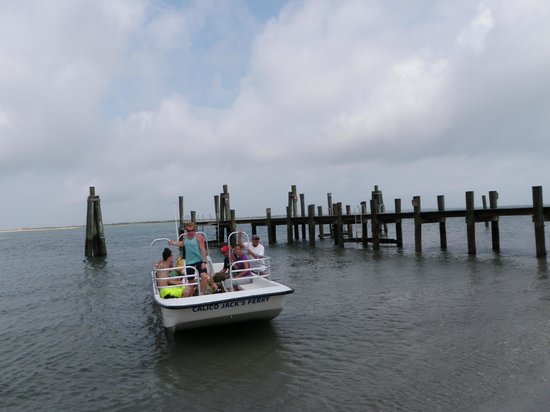 Harkers Island, NC: This was the boat