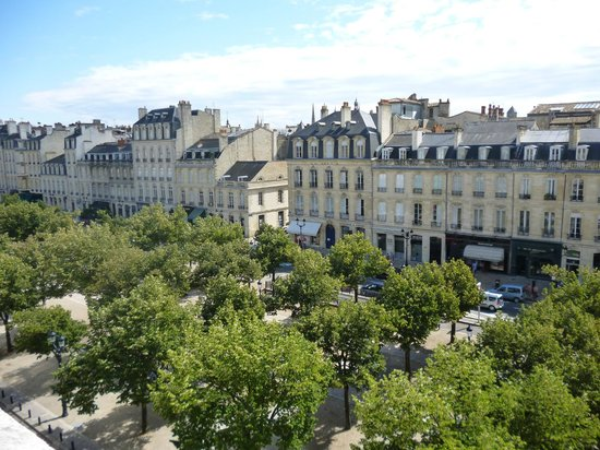 Hotel de Seze : View from our room