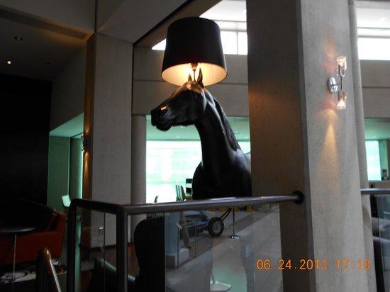 Hotel Murano: HORSE LAMP