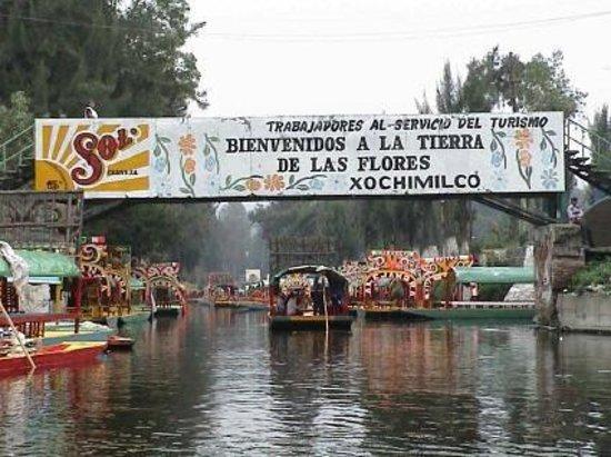 Foto De Trajineras Ciudad De M Xico Lanchas Of Xochimilco Tripadvisor
