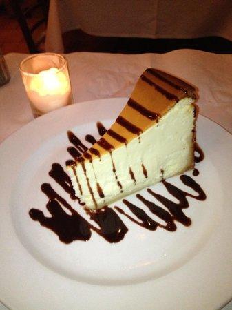 Pazzia Caffe and Trattoria : Cheesecake