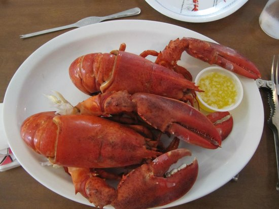 Family Fisheries Restaurant & Take Out: Two Lobster Dinner