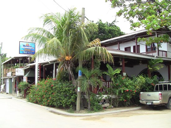 Splash Inn Dive Resort: Hotel and restaurant.