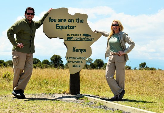 Porini Rhino Camp: At the equator inside the Ol Pejeta Conservancy