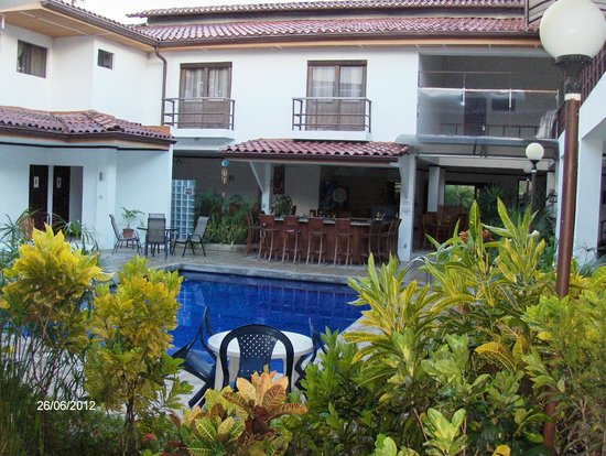 Hotel Rincon del Llano: Desde las afueras de la Habitación 111