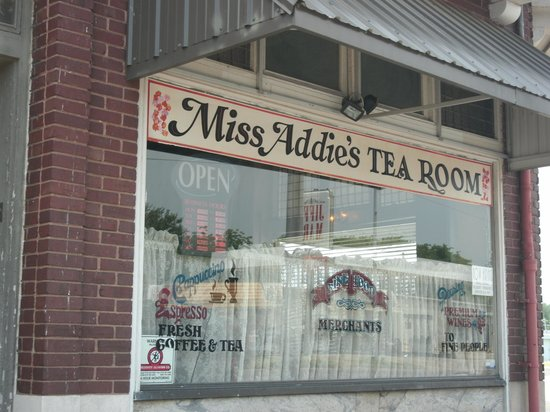 Miss Addie's: From the sidewalk