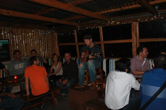 The Terrace Hostel: Live Music at Top Bar