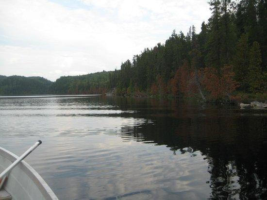 Lost Lake Wilderness Lodge: Calcite lake.
