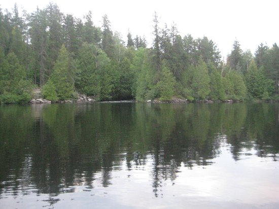 Lost Lake Wilderness Lodge: End of Wigwam lake.
