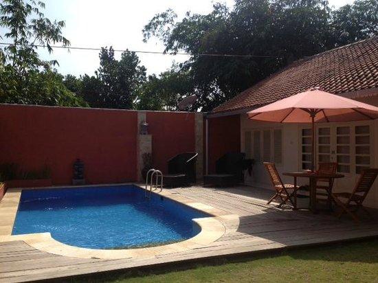 Villa Pondok Terra Yogyakarta : Pool