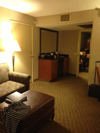 Embassy Suites by Hilton Brea - North Orange County: front room of the suite