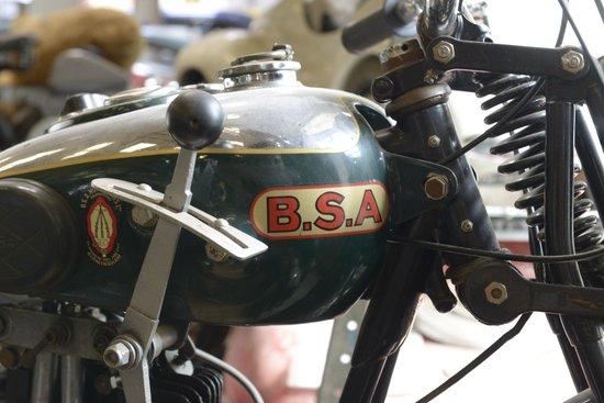 Llangollen Motor Museum: BSA motorbike