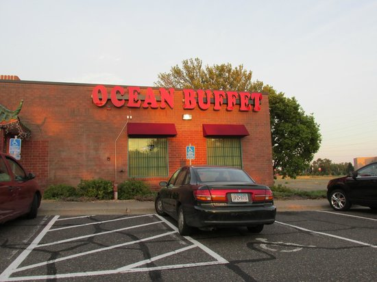 Ocean Buffet: located on a major street not hard to find.