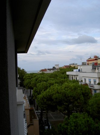 Hotel Norma : Blick Richtung Strand