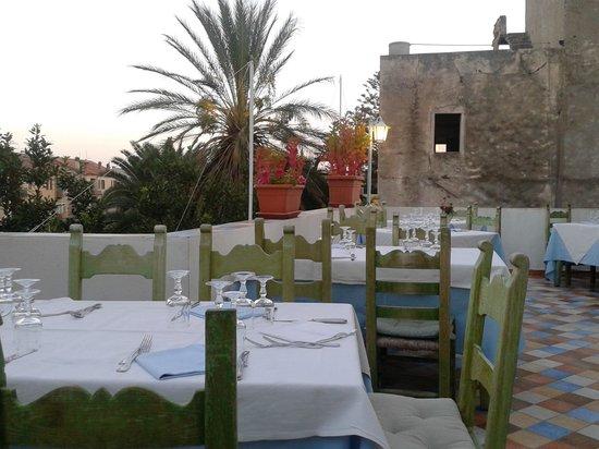 Su Barchile Restaurant: La terrazza 2